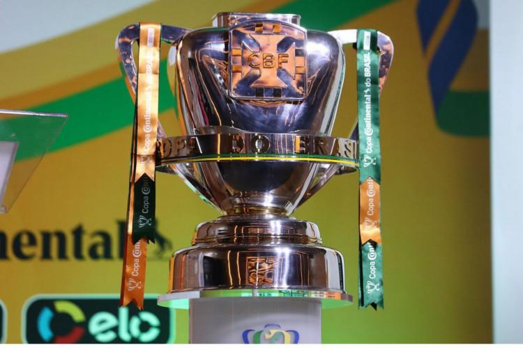 Taça da Copa do Brasil (Foto: Lucas Figueiredo/CBF/Direitos Reservados)