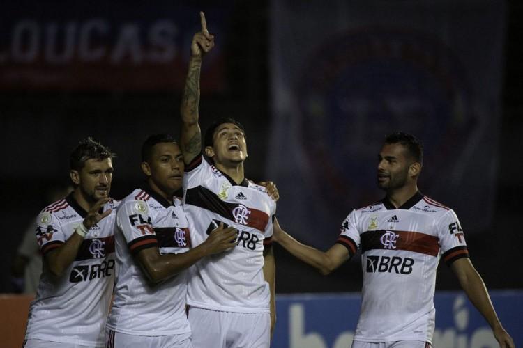 Flamengo supera Barcelona e desfalques pela covid-19 na Libertadores (Foto: )