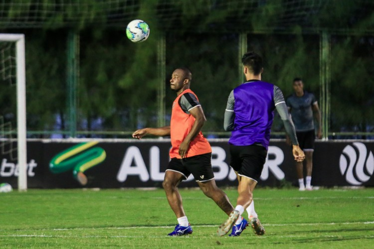 Ceará encerrou preparação para o duelo diante do Brusque-SC nesta terça-feira, 22 (Foto:  Felipe Santos/ Ceará SC)