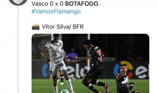 Perfil do Botafogo no Twitter erra a mão e cita rival com