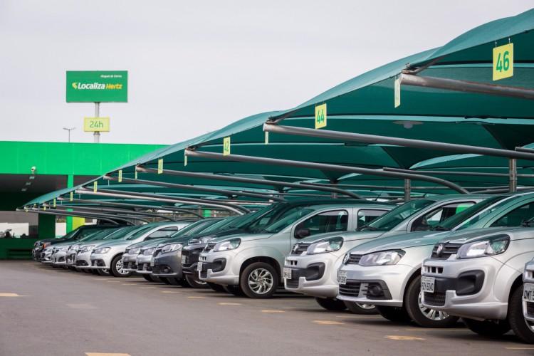 A nova empresa deve contar com frota de 470 mil carros.  (Foto: Divulgação Localiza)