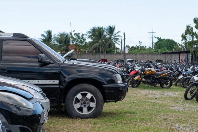 Com lance inicial de R$ 2,7 mil para carros e R$ 500 para motos, Detran do Ceará realiza terceiro leilão virtual do ano com 447 peças em lote (Foto: Divulgação/Ascom Detran)