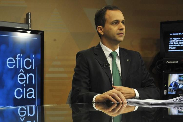 O secretário de Gestão do Ministério da Economia, Cristiano Heckert, participa do programa  Brasil em Pauta (Foto: Marcello Casal Jr/EBC)