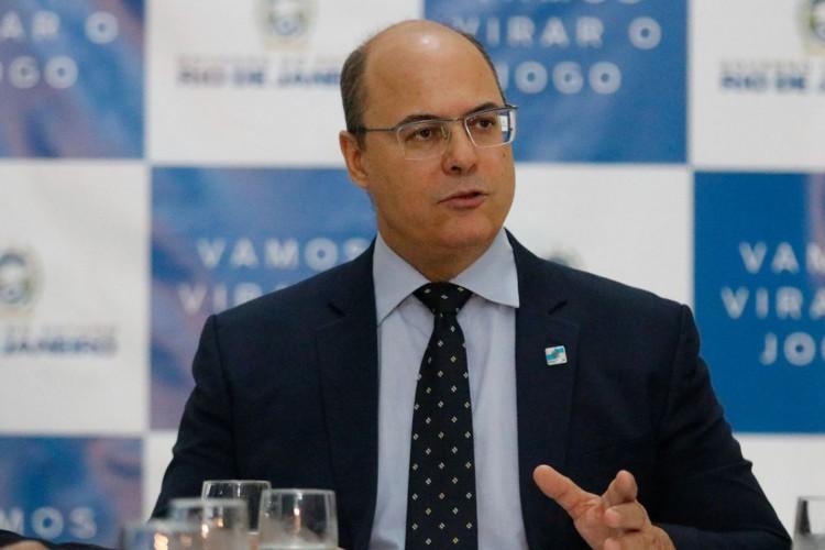 O governador afastado do Rio de Janeiro, Wilson Witzel (Foto: Fernando Frazão/Agência Brasil)