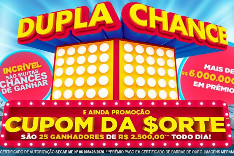 O quinto sorteio da Tele Sena de Primavera 2020 será divulgado na noite de hoje, domingo, 27 de setembro (27/09), às 20 horas, pelo SBT (Foto: Divulgação/SBT)