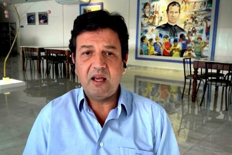 Luiz Henrique Mandetta falou sobre as recentes mudanças nos ministérios do governo Bolsonaro (Foto: Reprodução/TV Globo)