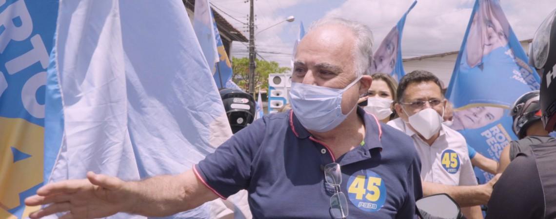 ROBERTO PESSOA, candidato do PSDB a prefeito de Maracanaú (Foto: Divulgação)