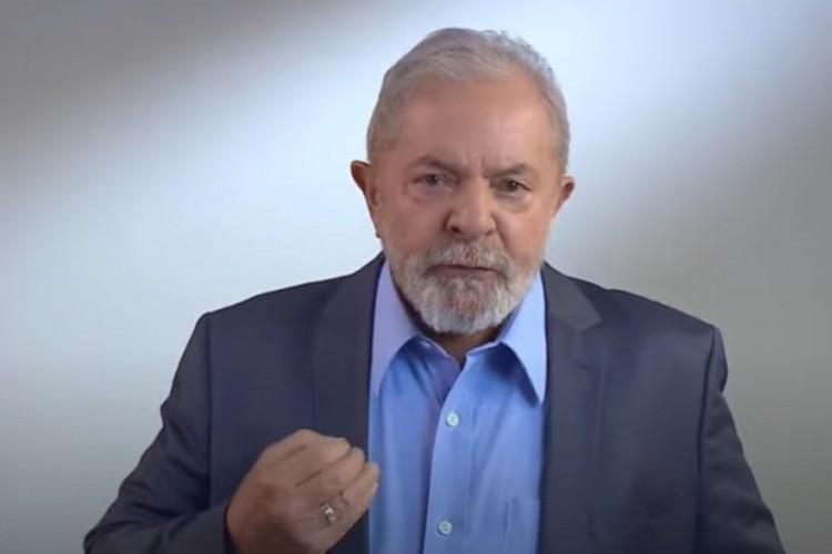Lula relembrou ainda de quando foi preso, em 2018 (Foto: REPRODUÇÃO)
