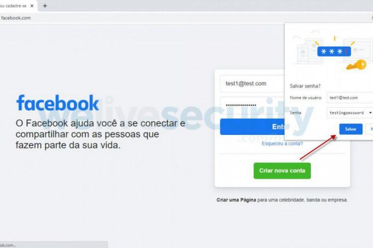 Vários sites da internet permitem que o usuário realize essa integração com o Chrome. (Foto: Reprodução/Welivesecurity.com)