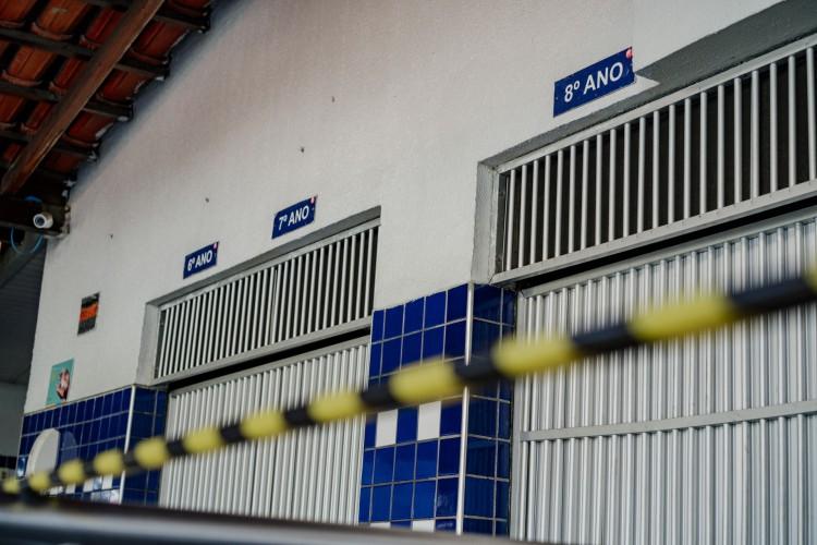 Decreto autoriza aulas presenciais até o 9º ano no Ceará (Foto: JÚLIO CAESAR)