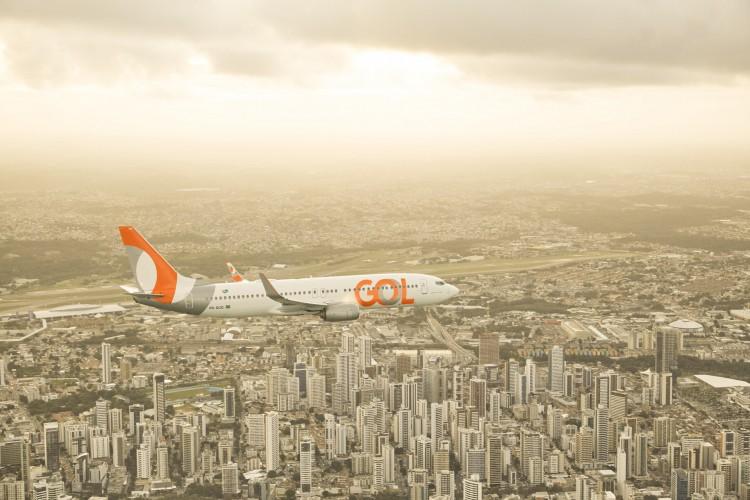 Hub de Fortaleza liga a Capital a 11 destinos nacionais (Foto: Divulgação/GOL)
