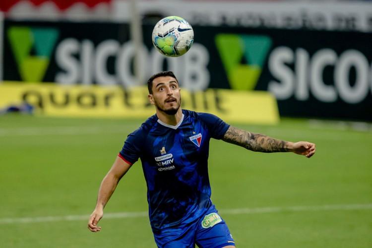 Mariano Vazquez ainda não atuou na temporada 2021  (Foto: Aurelio Alves/ O POVO)