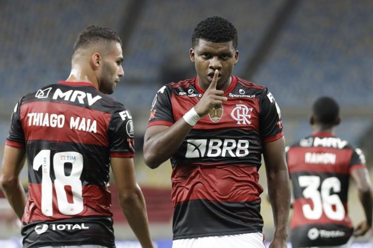 Libertadores: Flamengo goleia Del Valle por 4 a 0 e chega a oitavas (Foto: )