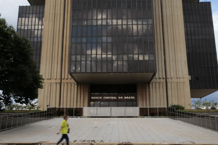 Edifício-sede do Banco Central no Setor Bancário Norte, em lote doado pela Prefeitura de Brasília, em outubro de 1967 (Foto: Marcello Casal JrAgência Brasil)