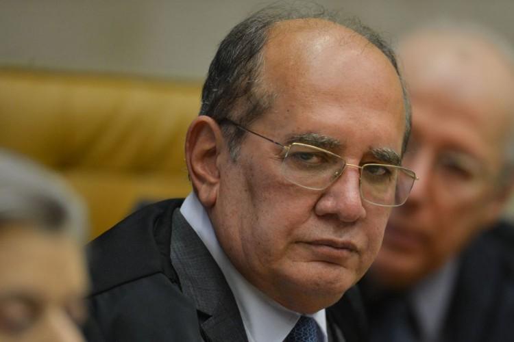 O ministro Gilmar Mendes, durante julgamento da  validade de prisão em segunda instância (Foto: Fabio Rodrigues Pozzebom/Agência Brasil)