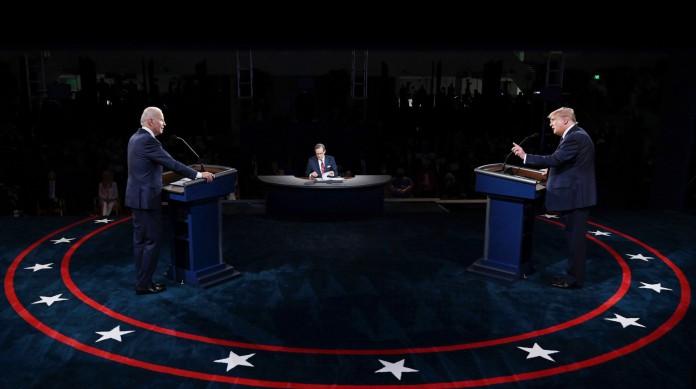 Primeiro debate entre Trump e Biden surpreendeu a todos, negativamente, pela agressividade de Trump e pasmaceira de Biden