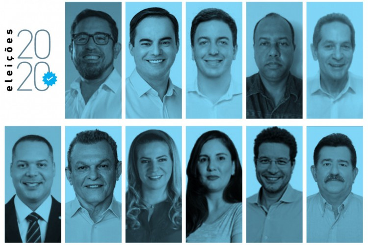 Eleições 2020: candidatos à Prefeitura de Fortaleza (Foto: O POVO)