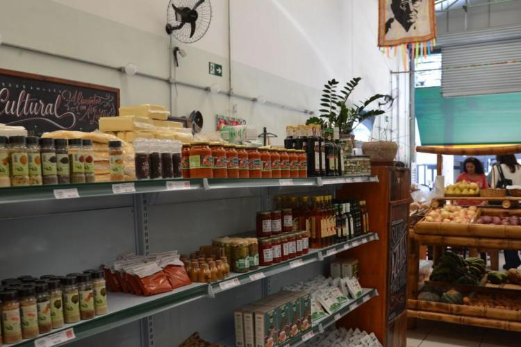 Armazém do Campo vende produtos orgânicos, em Campos Elísios, região central de São Paulo. (Foto: Rovena Rosa/Agência Brasil)