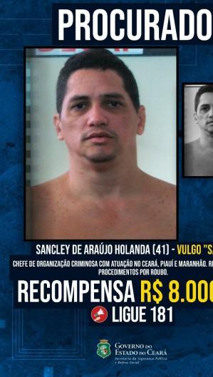 Lista de procurados do Ceará  (Foto: divulgação/SSPDS)