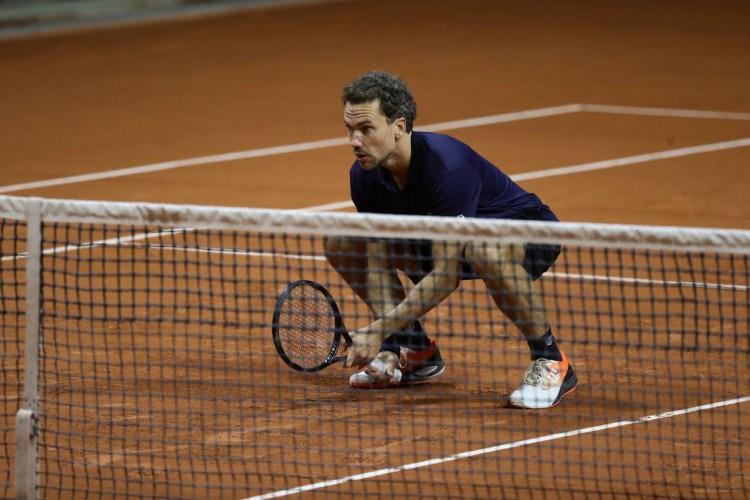 Bruno Soares está na semifinal de duplas de Roland Garros (Foto: Loic Wacziak)