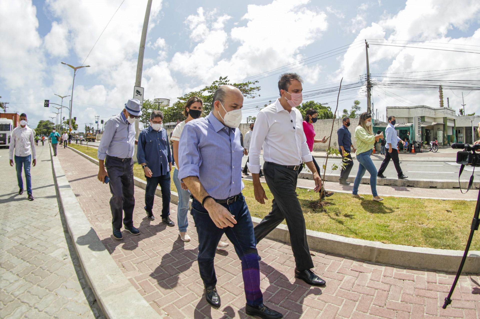 CAMILO estava cumprindo extensa agenda de inaugurações ao lado de RC nos últimos dias