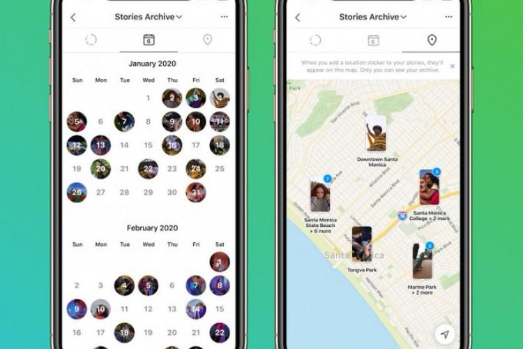 Novas funcionalidades permitem ver Stories criados nos três anos anteriores (Foto: Divulgação/Instagram)