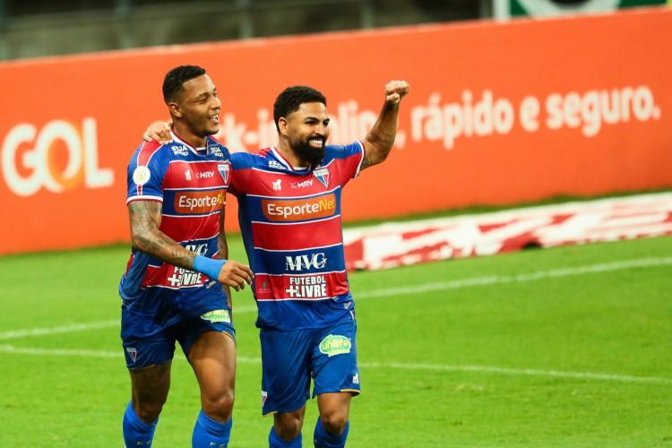 Fortaleza tem a chance de aumentar a invencibilidade contra o Sport. São duas vitórias e um empate contra os pernambucanos (Foto: Julio Caesar)