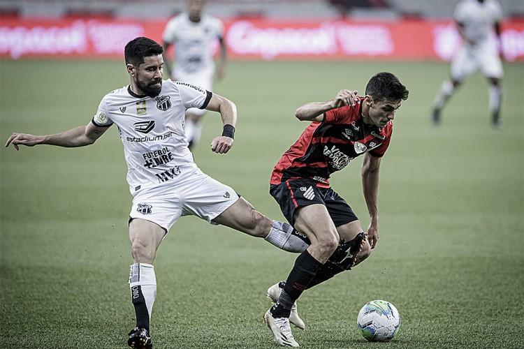 Ceará e Athletico se reencontram no segundo turno do Campeonato Brasileiro  (Foto: MIGUEL LOCATELLI)