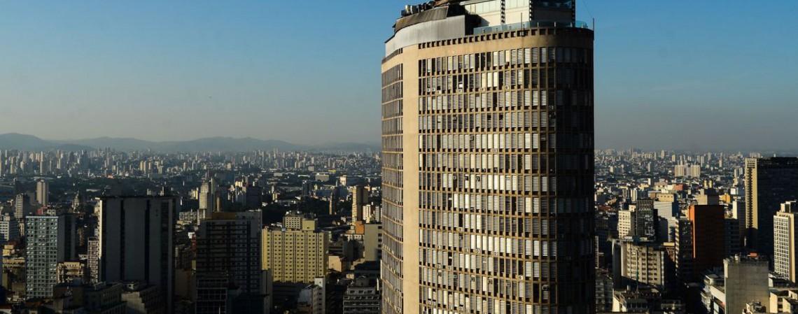 Vista do Edifício Copan, região central de São Paulo (Foto: Rovena Rosa/Agência Brasil)