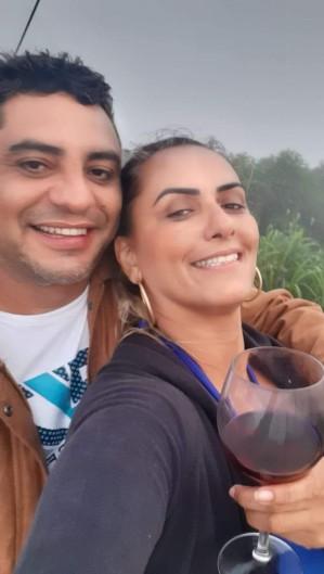 Bonfim e Ana Rita namoravam há cerca de dois anos (Foto: Arquivo Pessoal)