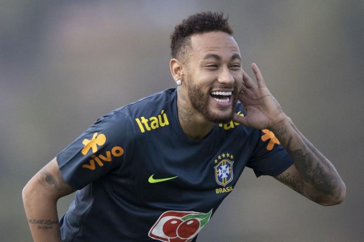 Com Neymar titular, seleção enfrenta Bolívia nas Eliminatórias (Foto: Lucas Figueiredo/CBF)