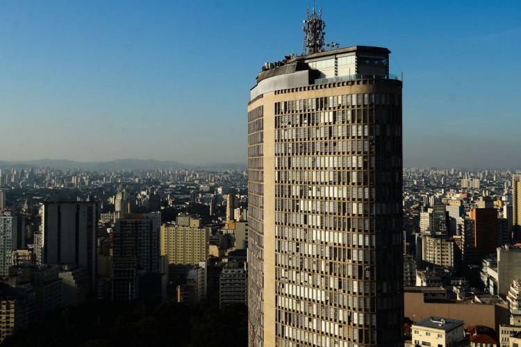 Vista do Edifício Copan, região central. (Foto: Rovena Rosa/Agência Brasil)