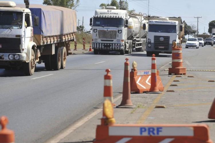 Sistema Anhanguera-Bandeirantes tem trânsito lento para o interior (Foto: )