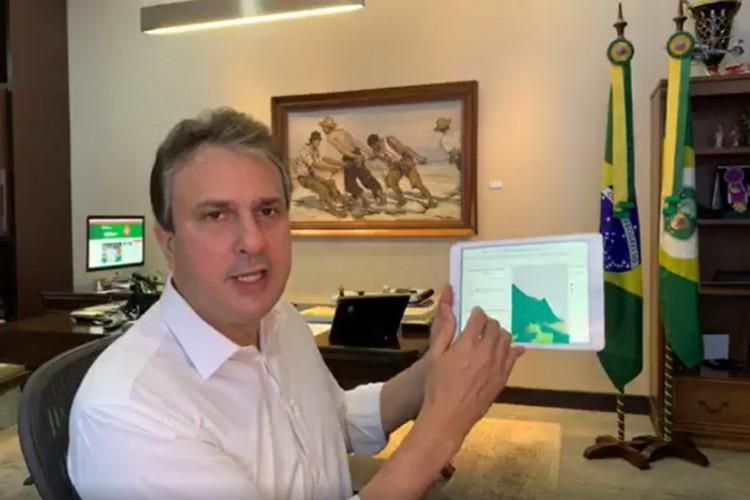 Governador falou sobre o novo decreto nas redes sociais (Foto: REPRODUÇÃO REDES SOCIAIS)