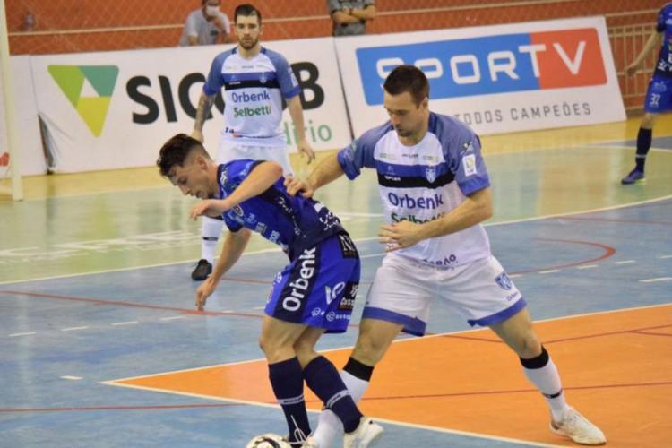 Joaçaba quer primeira vitória na LNF e Tubarão tenta encaminhar vaga (Foto: )