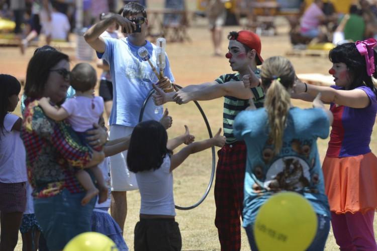 Brasília - CCBB DF comemora o Dia das Crianças com várias atividades(Fabio Rodrigues Pozzebom/Agência Brasil) (Foto: Fabio Rodrigues Pozzebom/Agência Brasil)