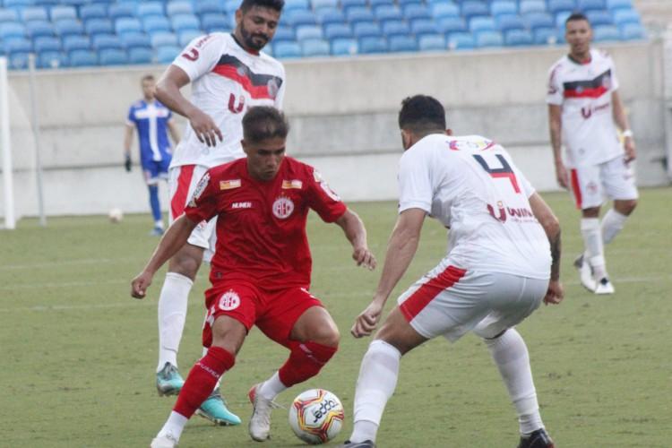 O Guarany de Sobral foi derrotado pelo América-RN pela Série D (Foto: Canindé Pereira/América FC)