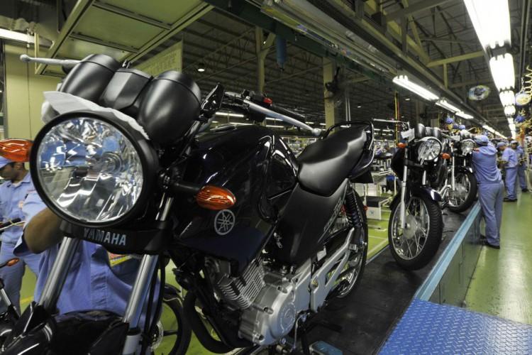 Fábrica da Yamaha. Linha de montagem de motocicletas Yamaha. Chão de fábrica..Manaus (AM) 26.10.2010 - Foto: José Paulo Lacerda (Foto: CNI/José Paulo Lacerda)