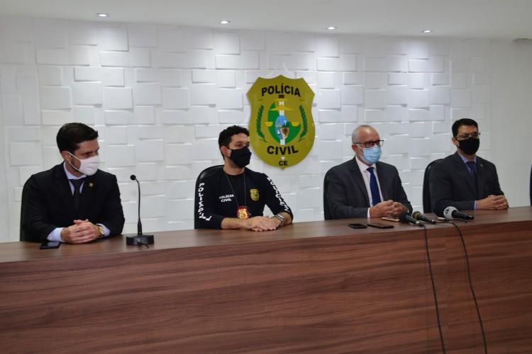 Coletiva divulga prisão de 31 pessoas já condenadas por abuso sexual (Foto: divulgação/Polícia Civil )