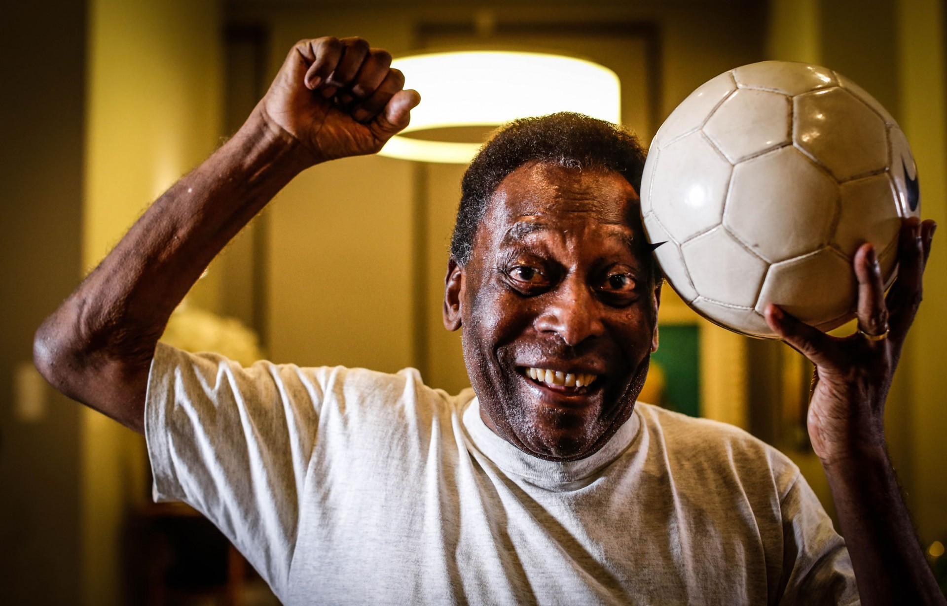 Pelé talvez tenha sido mais aceito porque raramente perdia (Foto: WERTHER SANTANA/AE)