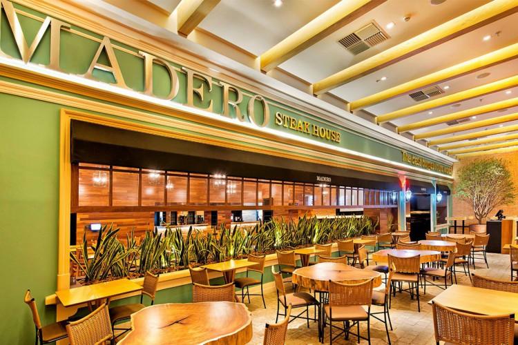 Controladoria Geral da União (CGU) multou o restaurante em R$ 442 mil por pagamento de propina para funcionários do Ministério da Agricultura. (Foto: Divulgação/Madero)