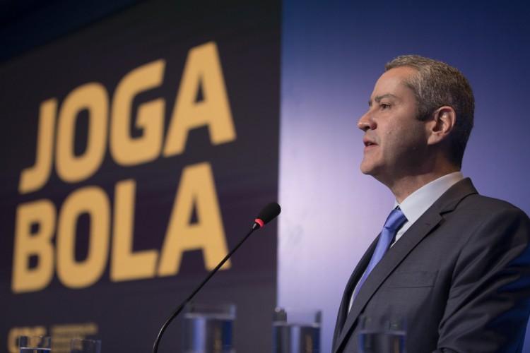 Rogério Caboclo está desgastado como presidente da CBF  (Foto: Lucas Figueiredo/CBF)