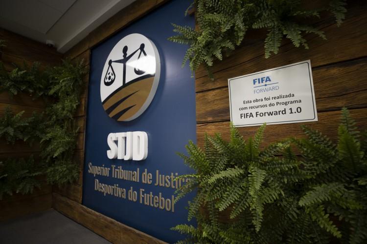 Nova sede do Superior Tribunal de Justiça Desportiva (STJD), no Rio de Janeiro (Foto: Lucas Figueiredo/CBF)