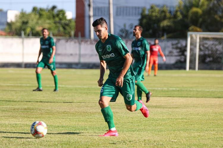 Floresta tenta manter sequência de cinco jogos invicto diante do Salgueiro-PE fora de casa (Foto: Ronaldo Oliveira / Floresta EC)