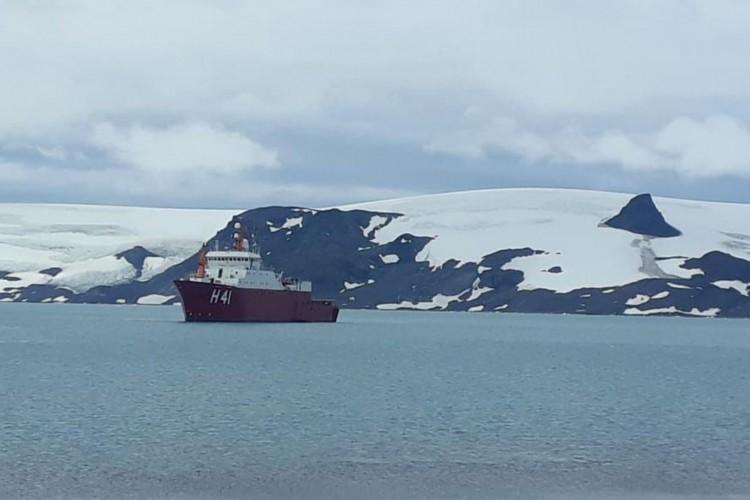 Ministro busca verbas para montar novo módulo científico na Antártica (Foto: )