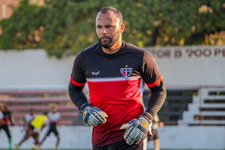 Goleiro Genivaldo será titular diante do Remo  (Foto: Lenilson Santos/Ferroviário )