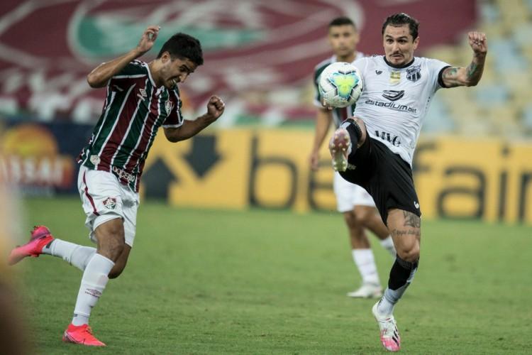 Ceará e Fluminense empataram por 2 a 2 no Maracanã pelo Brasileirão (Foto: Jorge Rodrigues/AE)