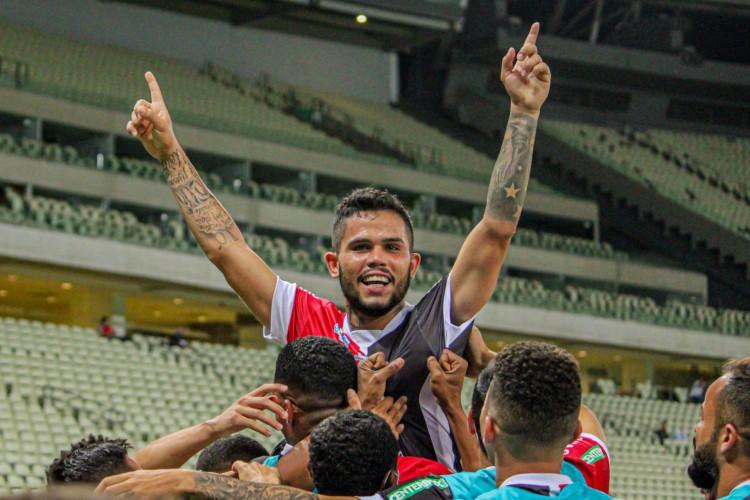 Ferroviário venceu Remo com gol de Wesley Pimbinha (Foto: Lenilson Santos / Ferroviário AC)