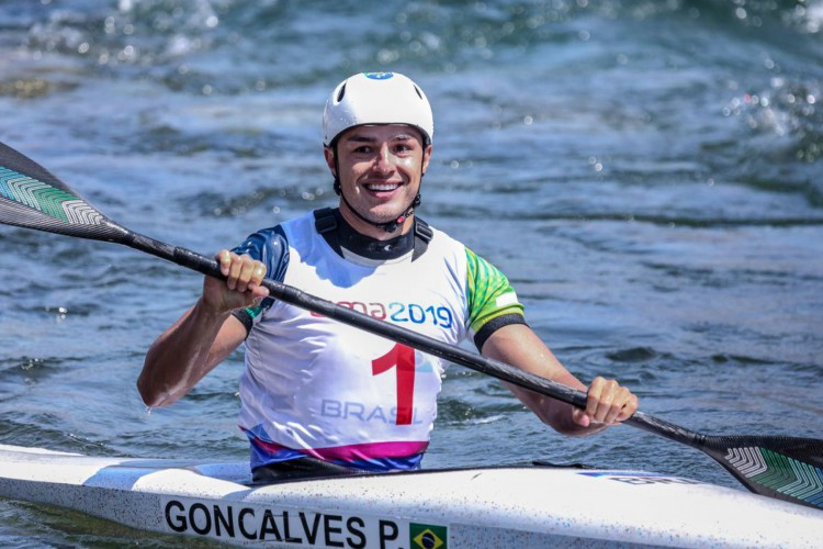 Brasileiro conquista bronze inédito na Copa do Mundo de Canoagem (Foto: DANILOBORGES)