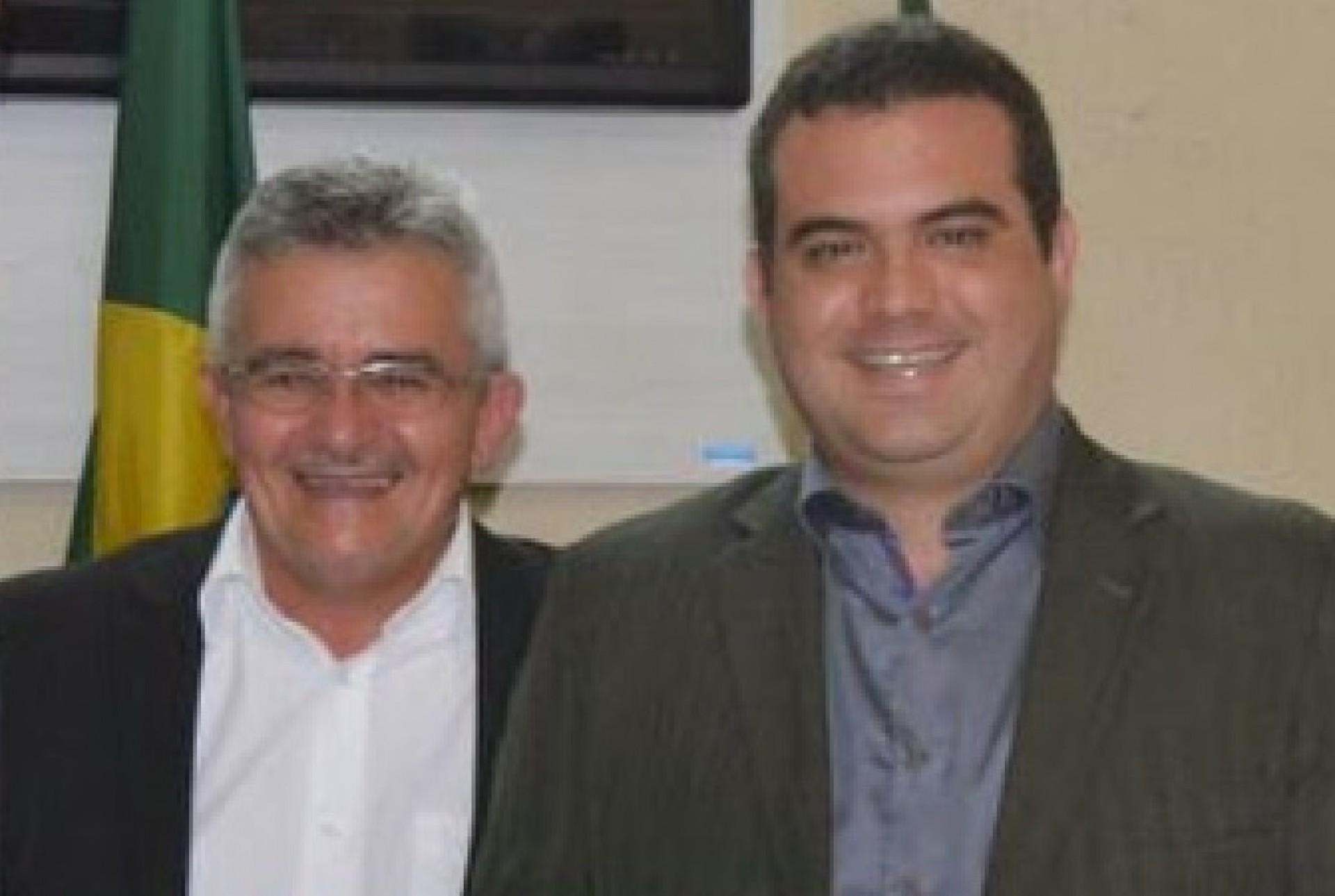 CANDIDATO José Rubens e prefeito Simão Pedro, de Orós